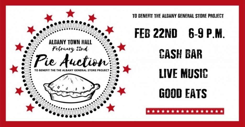Albany Pie Auction - 2.22.2020