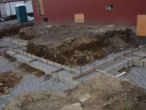 Albany-General-Store-renovation-concrete-footings-community-room