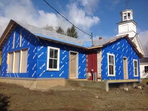 Albany-General-Store-building-envelope-progress