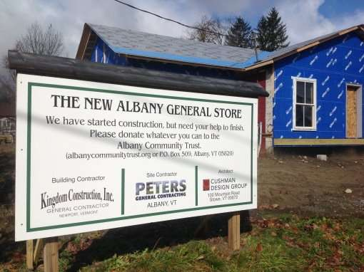 Albany-General-Store-construction-sign