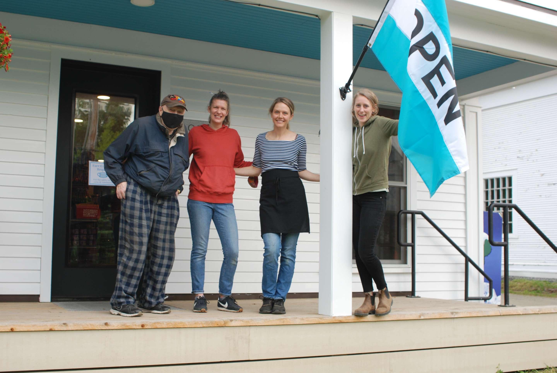Opening Day - Robert Mcgivern, Emily, Jana & Kit